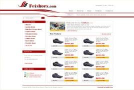 济南鞋业出口外贸网站建设案例