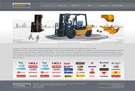 机械配件出口外贸网站建设案例