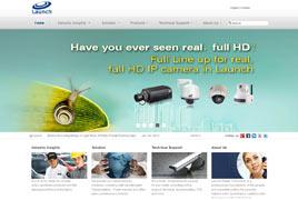 监控设备行业外贸网站案例
