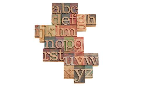 使用正确的字体