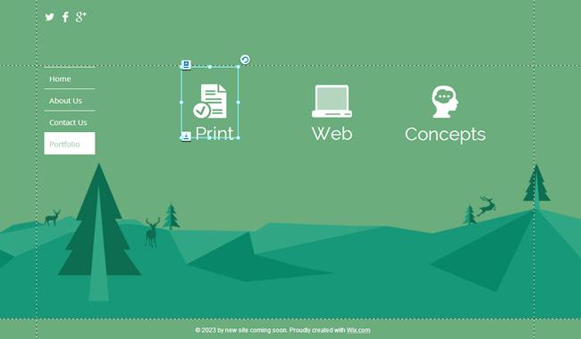 网站平面设计图标