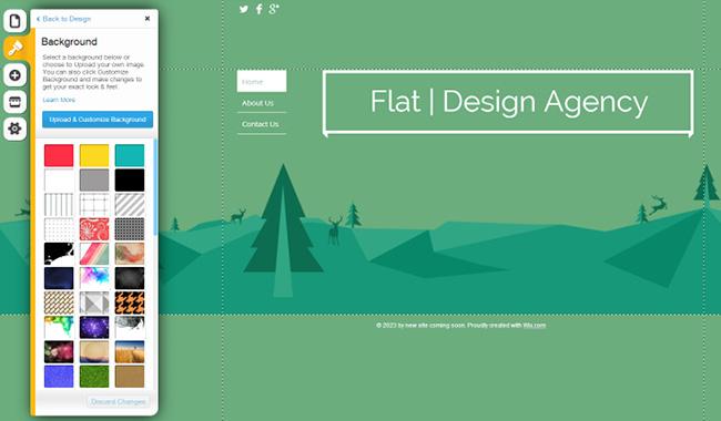 网站平面设计选择简单背景