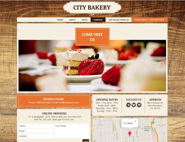 企业品牌网站建设之联系我们页面