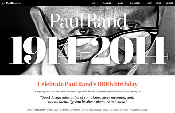 2015网页设计趋势更强调字体