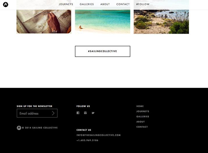 网页页脚设计多用点空间