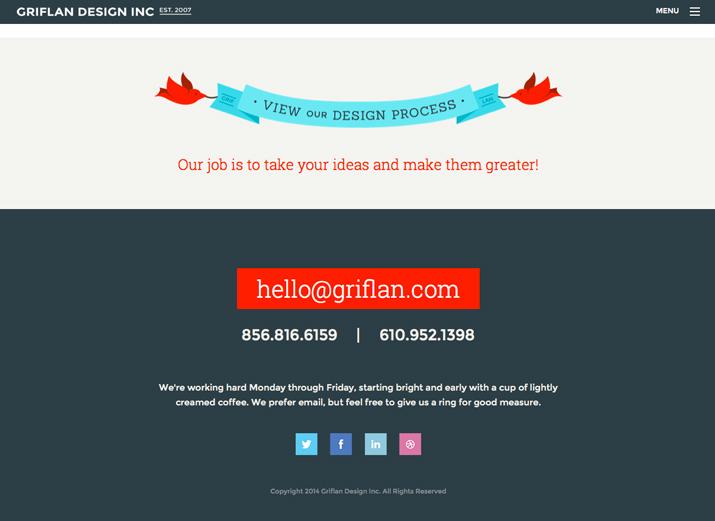网页页脚设计要有层次感