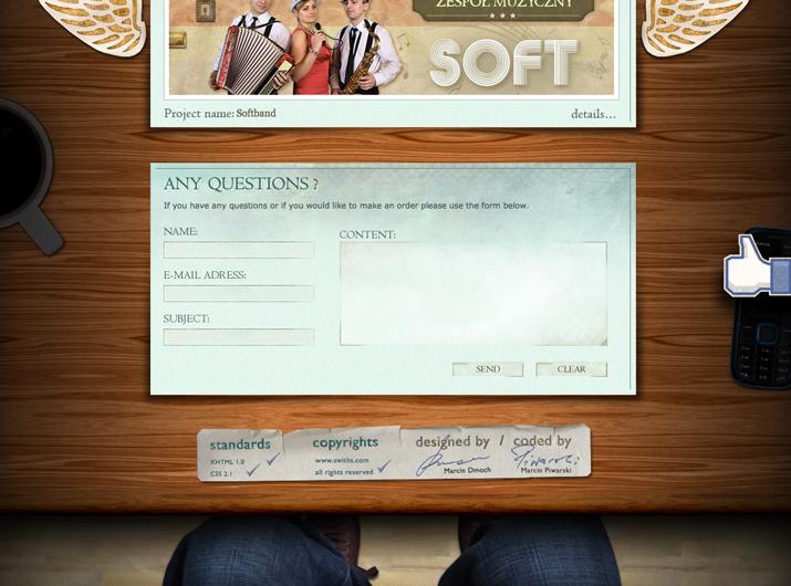 网页页脚设计要包含网站设计主题