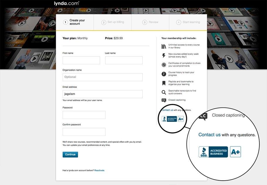 添加付款标志来提升网站信任度和转化率