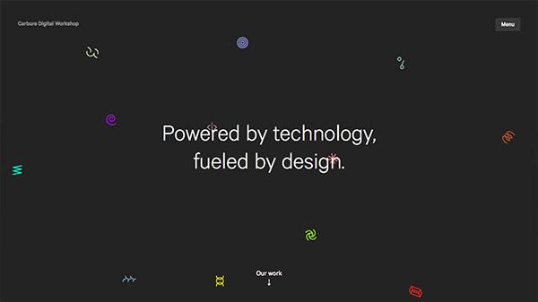 Carbure Digital Workshop 网页设计合理使用动画效果案例