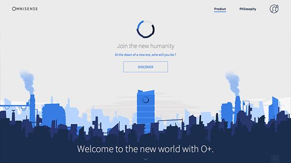 Omnisense 网页设计合理使用动画效果案例