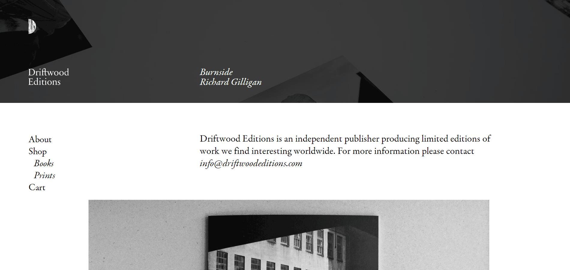 黑白灰低调大气范网页设计欣赏